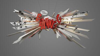 Ingo Maurer, ''Comic Explosion'', 2010
