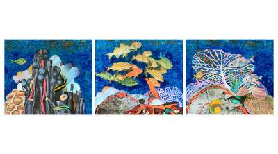 Richelle Gribble, 'Underwater (triptych)', 2015