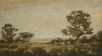 Ralph Albert Blakelock, 'Western Encampment', Late 19th century