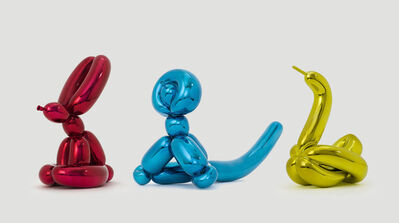 Jeff Koons, 'Balloon Animals (set of 3)', 2017