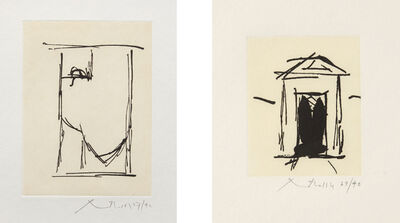 Robert Motherwell, 'House of Atreus; and España II', 1983