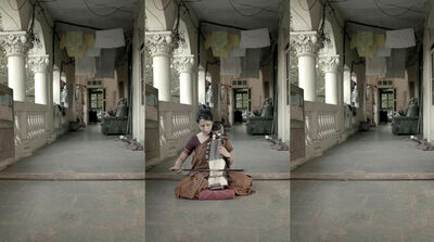 Sudarshan Shetty, 'Waiting for others to arrive', 2013