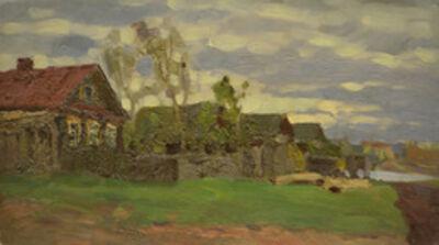 Vasily Leontevich Martynov, 'Village', 1915