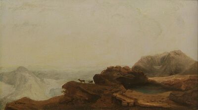 William Jacob Hays Sr., 'Dakota Badlands', 1860