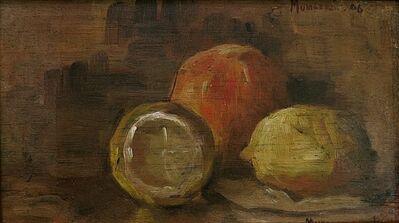 Jane Jarvis Mumford, 'Lemon Still Life', 1906