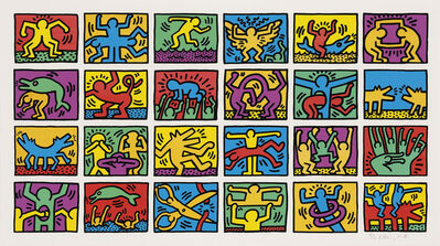 Keith Haring, 'Retrospect', 1989