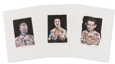 Peter Blake, 'Tattooed People', 2015