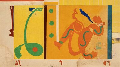 Benode Behari Mukherjee, 'Two Figures', 1957