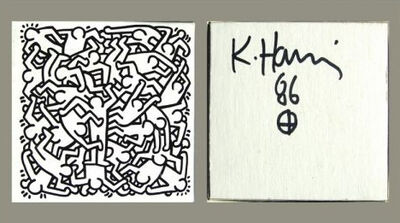 Keith Haring, 'Jigsaw Puzzle', 1986