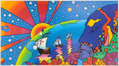 Peter Max, 'DISCOVERY', 1992