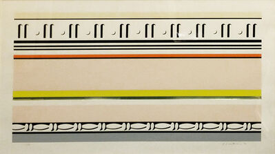 Roy Lichtenstein, 'ENTABLATURE VIII', 1976
