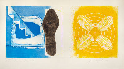 James Rosenquist, 'Nuclear Neighborhood; Towel, Star, Sunglasses (a pair of works from the Tripartite series)', 1977