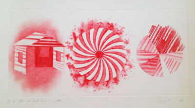 James Rosenquist, 'Star and Empty House: 2 State', 1978