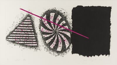 James Rosenquist, 'Black Star', 1978