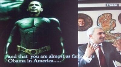 Fikret Atay, 'Batman vs. Batman', 2009