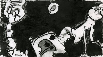 Karel Appel, 'Les Ancêtres chuchotent', 1976