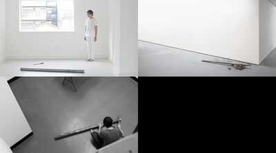Morgan Wong 黄荣法, 'Filling Down a Steel Bar until a Needle is Made Series', 2016 – Present