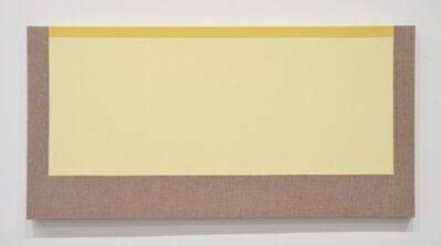 Sharon Brant, 'Yellow and Yellow', 2018