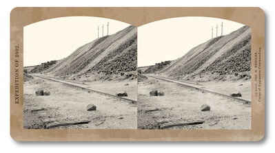 Jeff Brouws, 'Berkeley Pit #21, Butte, Montana', 2002