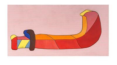 Ugo Nespolo, 'Un arma per pugnar', 1971