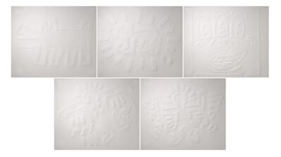 Keith Haring, 'White Icons (Complete set)', 1990