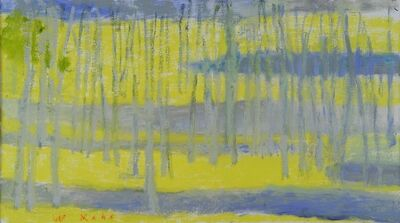 Wolf Kahn, 'Uphill Grove', 2013