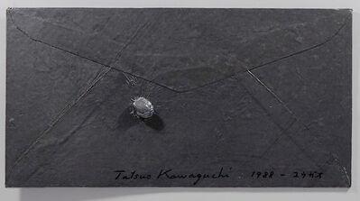 Tatsuo Kawaguchi, 'Relation - Lead Envelope / Bottle Gourd', 1988