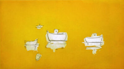 Paul Resika, 'Untitled (Boat Group, Yellow)'