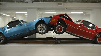Jonathan Schipper, 'The Slow Inevitable Death of American Muscle', 2007