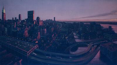 Stephen Hannock, 'Untitled (New York Skyline)'
