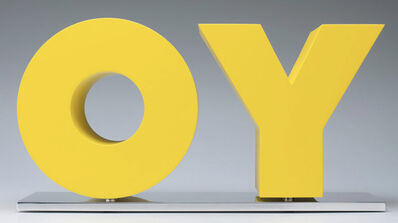 Deborah Kass, 'OY/YO', 2011