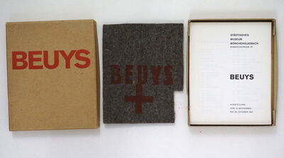 Joseph Beuys, 'Catalogue Museum Mönchengladbach, 1967', 1967