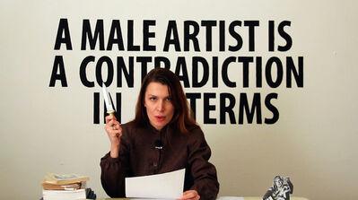 Chiara Fumai, 'Chiara Fumai Reads Valerie Solanas', 2013