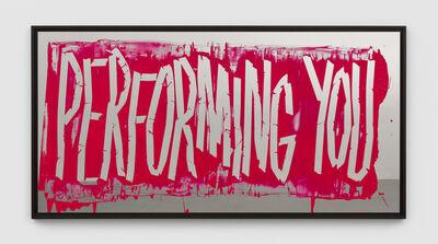 Eddie Peake, 'Performing You', 2018