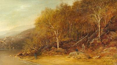 Ralph Albert Blakelock, 'A Meeting in the Woods'