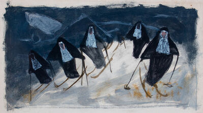Louis Bosa, 'Skiing Nuns'