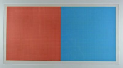Sol LeWitt, 'Grids and Color, Plate #39', 1979