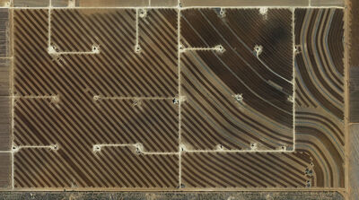 Mishka Henner, 'Fields, San Andres Oil Field, Hockley County, Texas', 2013
