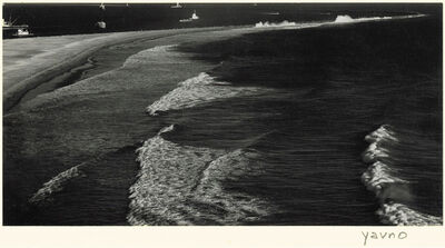 Max Yavno, 'Breakwater in San Pedro (Gateway to Hawaii)', 1945, 49/1945, 49