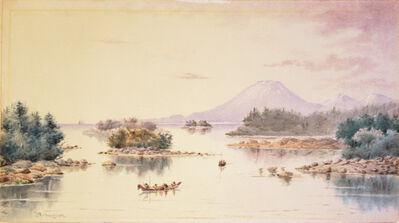 Theodore J. Richardson, 'Sitka Bay, Alaska', 1889