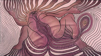 Judy Chicago, 'Study for Birth 2'