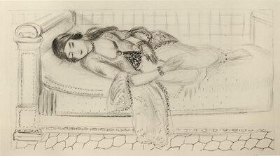 Henri Matisse, 'Orientale sur lit de repos, sol de carreaux rouges', 1929