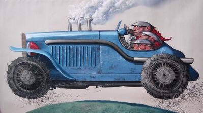 Cheng Liu 陳流, '山脊赛车; The Earth's Car', 2014