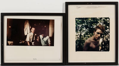 Mark Morrisroe, 'Two Photographs: Jonathan (Jack Pierson), and Self-Portrait with Jack Pierson and Nan Goldin'