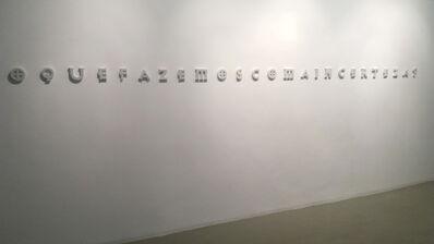 Fernando Arias, 'A Certeza esta In', 2016