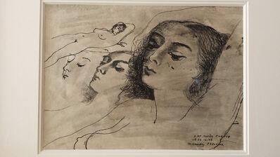 Paul Delvaux, 'A Ma Cherie Pilette', 1948