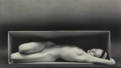 Ruth Bernhard, 'In the Box-Horizontal'