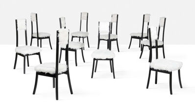 Angelo Mangiarotti, 'Set of 10 chairs', circa 1972