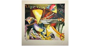 Wassily Kandinsky, 'Improv 11 (Russian Museum)', 1910