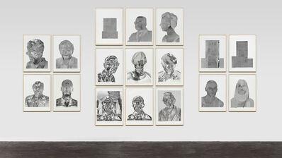 Thomas Bayrle, 'Atari Faces', 1990-1991